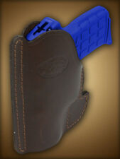 Barsony Brown Leather Gun Concealment  Pocket Holster for Walther PP PPKS PPK