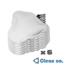 6 H2O Steam Mop Pads Replacement Microfiber Cleaner Bissell Steamboy