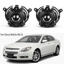 Fog Lamp Light For Chevy Malibu Cadillac CTS 2008-2012 Front Bumper Clear Lens
