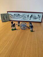 Britains 8875 Union Infantry Cannon Gun & 5 Figures Crew Set Metal War Soldiers