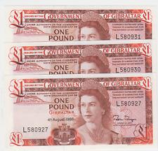 Gibraltar £1 One Pound 1988 (P20e) Uncirculated 1988