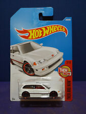 2017 Hot Wheels '90 HONDA CIVIC EF in White HW THEN & NOW 2/10. Long Card.