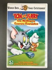 """VHS """"Tom & Jerry : Les meilleures courses-poursuites.."""""""