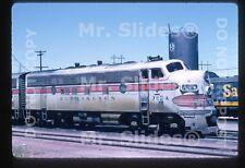 Original Slide C&S Colorado & Southern CB&Q F7A 702A Pueblo CO 1966
