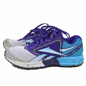 Reebok Womens Shoes One Guide Running Sneakers White Purple Size 7 Nwot No Box