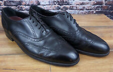 Vintage Men's Florsheim Shell Cordovan Dress Shoes Flexible Insole sz 8.5D Black