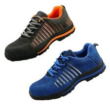 Mens Steel Toe Safety Shoes Trainers Work Boots Sports Hiking Sneakers UK 7-11