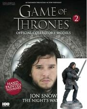 Game Of Thrones GOT Official Collectors Models #2 Jon Snow (Nights Watch) NEW