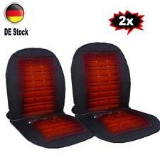 Auto Sitzheizung 12V DeLuxe 2 Heizstufen beheizbare Sitzauflage Heizkissen PKW