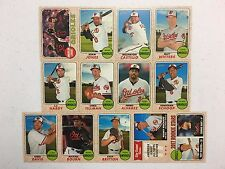 2017 Topps Heritage Baltimore Orioles Team Base Set 13
