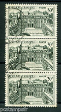 FRANCE - 1959, timbre 1192 en BLOC, ELYSEE, ARCHITECTURE oblitéré, VF used stamp