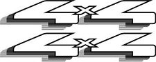 Vinylmark 4x4 Decals Fits 1997-1999 Ford F150 F250 F350 Truck - Black