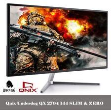 "[QNIX]UNDERDOG QX2704 144 SLIM &ZREO PLUS 27"" Monitor BEZEL-LESS DESIGN MONITOR"