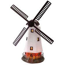 Traditional Windmill Super Bright Ornament Solar Powered Light Garden Decoration