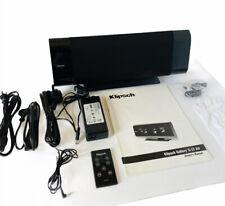 New listing Klipsch Gallery G-17 Air Wireless Sound Portable Speaker System w/ Remote