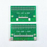 5pcs FFC/FPC 30 Pin 1mm 0.5mm to DIP Adapter PCB Board Converter Double Side F86