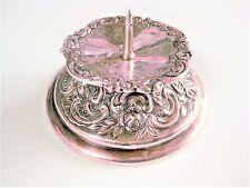 Antiker Kerzenständer Silber 800, 46,63 g