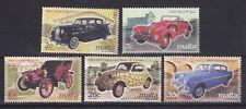 UMM MNH STAMP SET 2003 MALTA EUROPA VINTAGE CARS SG 1289-1293