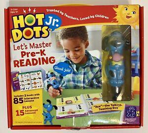 Hot Dots, Jr.-Let's Master Pre-K Reading-Incudes Pen