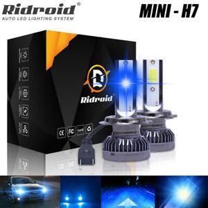 2X H7 LED Headlight Kit 320000LM High/Low Beam Bulbs 8000K Bright VS Xenon HID