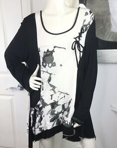 Kaktus 1x Tunic Top Two Front Pockets