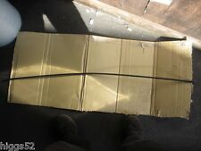 HOLDEN COMMODORE RIGHT ROOF GUTTER MOULD VH COMMODORE SS BROCK S/HAND BLACK