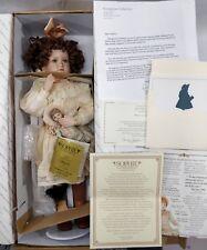 Georgetown Collection Pamela Phillips Doll SOPHIE & Her Bru, Porcelain NIB