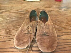 Merrell Select Fresh Grip Leather Lace Up Suede Shoes Women's 8.5