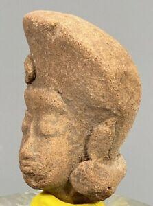 Fine Ancient Indonesia Majapahit terracotta head ca. 13th to 15th century V