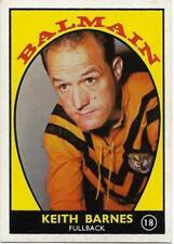 1968 A Nrl Rugby League Scanlens (18) Keith BARNES Balmain ::