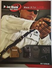 Point Blank Body Armor Law Enforcement Catalog Booklet 2017 Military 87 Pages