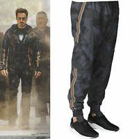 Tony Stark Avengers Infinity War Iron Man Camouflage Sweat Track Pants Trousers