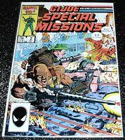 G.I Joe Special Mission 2 (6.0) 1st Print Marvel Comics