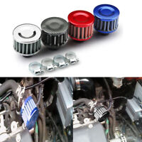 1x Car Auto Motor Cold Air Intake Filter Turbo Vent Crankcase Breather Accessory