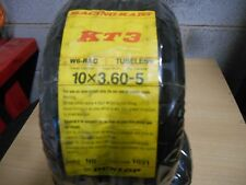10X3.60-5 W6-RAC DUNLOP RACING KART KT3 (GK)