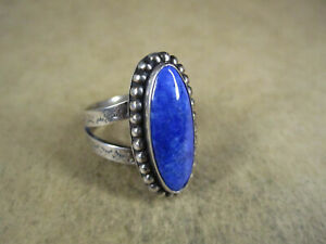 Carolyn Pollack Relios Sterling Silver & Lapis Ring, Size 9.75, 9g