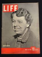 VINTAGE ~ LIFE Magazine May 29 1939  *Queen's Hostess Eleanor Roosevelt *  M1809