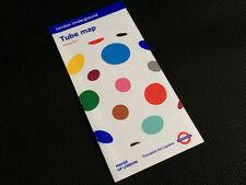London Underground pocket tube map - January 2012. Yayoi Kusama.