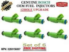 Upgrade 12Hole 6x Reman Fuel Injectors Oem Bosch (Cars: Chrysler and Dodge 3.3L)