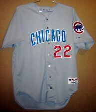 Chicago Cubs Rondell White Game Worn Gray Road #22 Mlb Baseball Size 48 Jersey