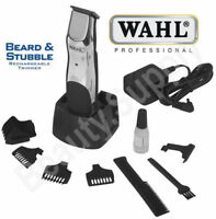 Wahl Beard Stubble Mustache Cordless Rechargeable Hair Facial Body Trimmer 9918