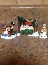 Department 56 Christmas Pudding Costermonger Collectible Figurine 56.58408