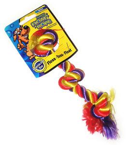 Mammoth Flossy Float Rope Mini 3 Knot Tug 25cm