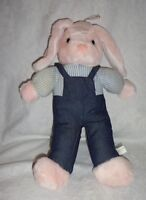"Wondertreats Pink Bunny Rabbit 15"" Plush Soft Toy Stuffed Animal"