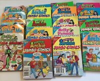 Lot of 18 Archie Jumbo Comics Digests World Of Archie Betty Veronica 2018-2019