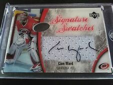 Cam Ward 2005-06 UD Ice Signature Swatches Patch Auto Hurrucanes