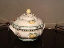 VILLEROY&BOCH French Garden Fleurence Schüssel Terrine mit Griff+Deckel bowl lid