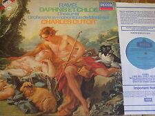 SXDL 7526 Ravel Daphnis et Chloe / Dutoit