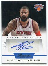 2013-14 Prestige Distinctive Ink 21 Tyson Chandler Auto 13/50