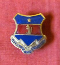 WW2 US ARMY 216th INFANTRY REGIMENT 35th DIVISION DI CREST